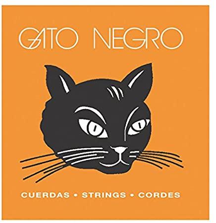 cuerdas nylon guitarra clasica Gato negro