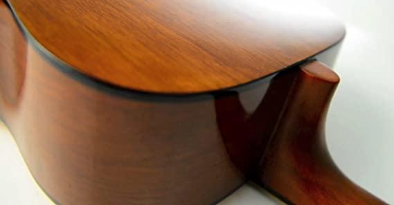 Parte trasera de al guitarra yamaha F310